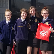 FFA members take 2nd place in state competition
