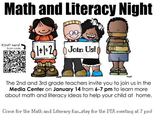 Math and Literacy Night