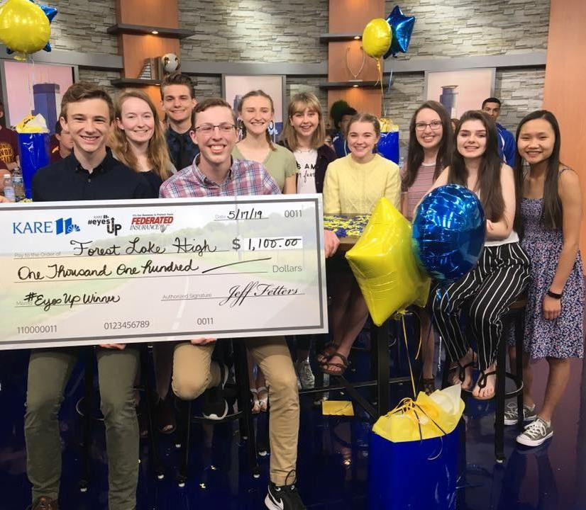 KARE 11 Recognizes FLHS Students' PSA Video on Distracted Driving