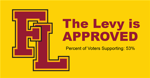 The levy was approved