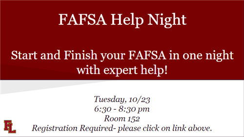 FAFSA Help Night