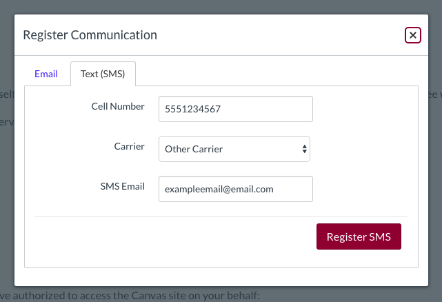 register communication image